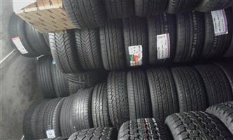 Am selling second hand and new tyres call for any size at Rayan Tyres and mag shop 0641448842
