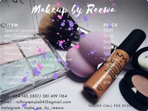 Make up artist at you door