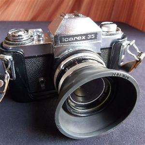 Zeiss Ikon Voigtlander Icarex 35 camera and kit