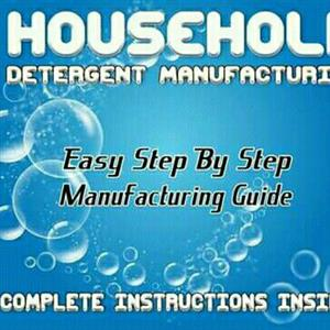 Learn How To Manufacture Household Detergents