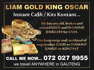 $$$ INSTANT CASH 4 GOLD JEWELLERY - ALL AREAS GAUTENG $$$