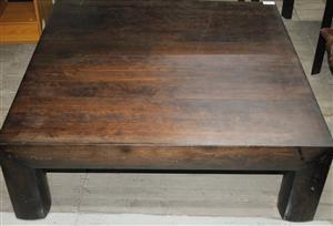 Brown coffee table S037089B #Rosettenvillepawnshop