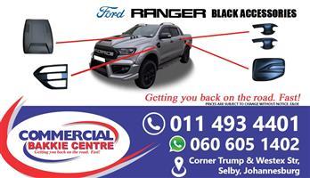 ford ranger black accessories