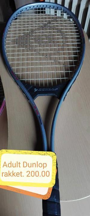 Adult dunlop racket for sale