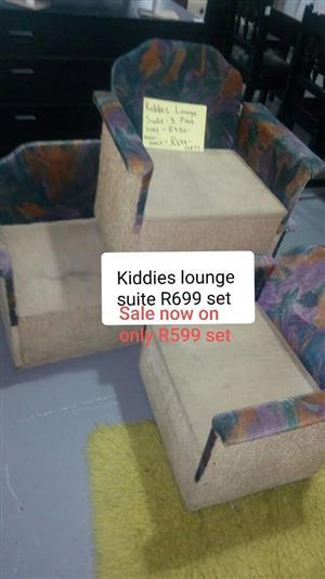 Kiddies lounge suite for sale