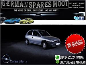 WE ARE STRIPPING OPEL ENGINES, GEARBOXES AND BODY PARTS.