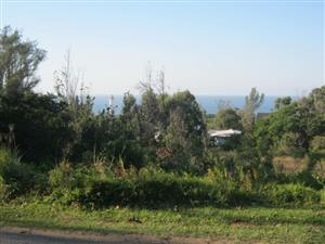 Vacant Land with Sea Views -Close to the CBD -for sale in Port Edward.