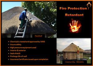 Thatch Lapa Fire Proofing