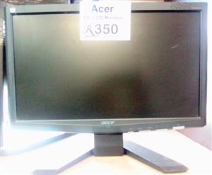 """Acer 15"""" X-163W Secondhand Monitor.....2 available"""
