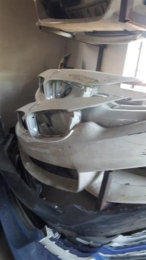 BMW and Mercedes Bumpers