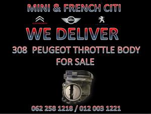 308 PEUGEOT THROTTLE BODIES FOR SALE AT MINI AND FRENCH CITI