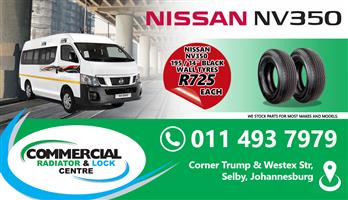 """195 /14"""" BLACK WALL TYRES"""
