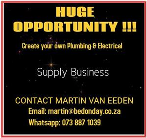 Become Supply King of the Natal Midlands