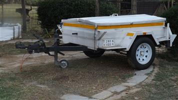 1 ton braked box trailer for sale.