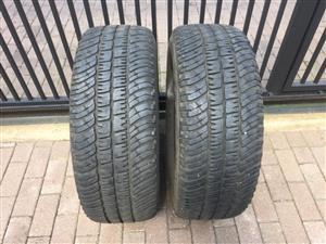 Michlen Tyres 265x65x17