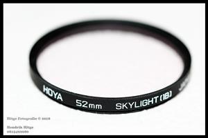 52mm - HOYA Skylight (1B) Filter