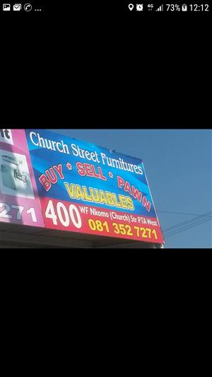 I am selling my business Church street Furnitures going concern