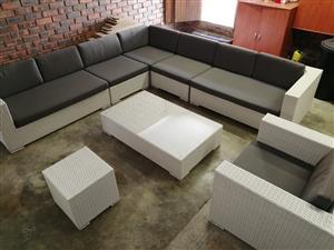 Wicker Patio Set (From Patio Warehouse)