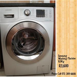 Samsung Washing Machine 8.0Kg