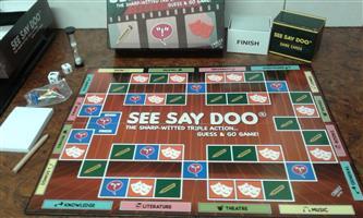 BOARD GAME - SEE SAY DOO