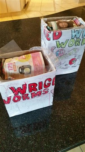 Red Wriggler Worms & Worm farms