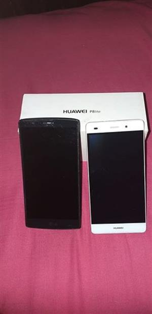 Hauwei P8 Lite and LG G4