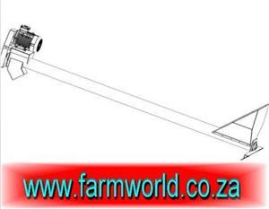 S647 Orange Hippo Grain Auger 100mm x 6m / Graan Awegaar 100mm x 6m New Implement