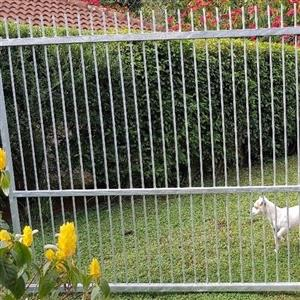 For Sale. Galvanised driveway gate