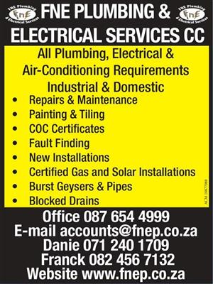 FNE PLUMBING & ELECTRICAL SERVICES