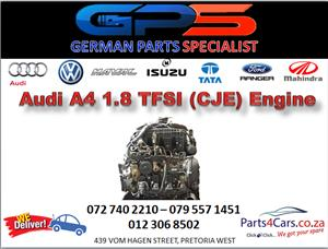 Audi A4 1.8 TFSI (CJE) Engine for Sale