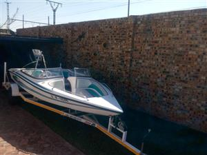 Miami Sport boat 17ft Ltd