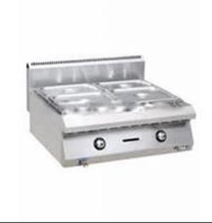 Bain Marie Table Top 2 Division Gas