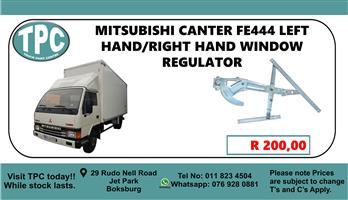 Mitsubishi Canter FE444 Left Hand/Right Hand Window Regulator - For Sale at TPC
