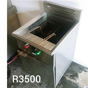 Single steel fryer for sale