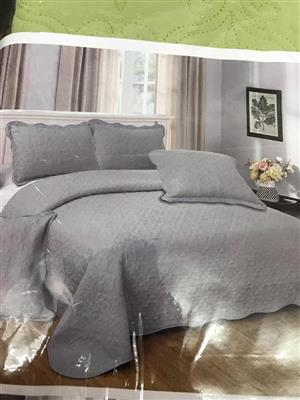 Light grey double bedding set