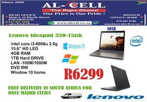 Lenovo Ideapad 80XH - I3-6006U-4GB-1TB-W10H