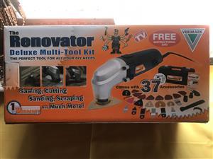 Renovator Delux 37 piece multi toolkit