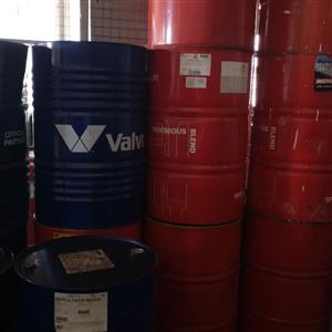 208 liter drums