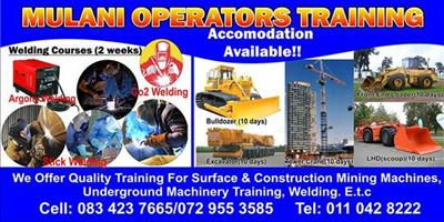 Accredited training school for lifting and earth moving equipment training school