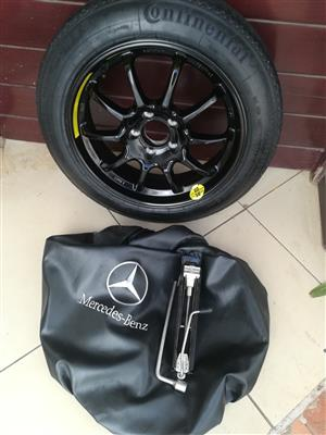 CLA45 Space Saver Spare Wheel kit with Tools R4950