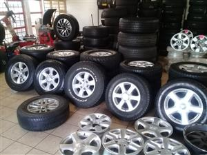 Spare wheels for your bakkies and passenger cars on special from r499