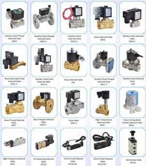 Solenoid, Pneumatic & Manual Valves For Sale