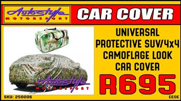 Protective SUV-4 by 4 Camoflage Look Car Cover R695 other car covers availale