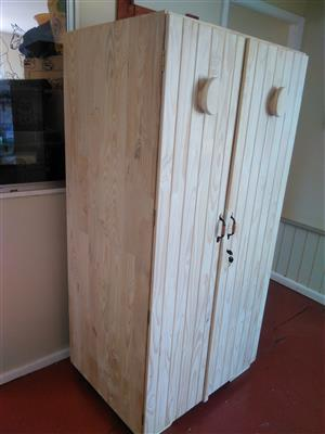 Pine saddle (Tack)  cupboard