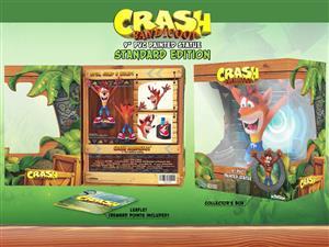 Official Crash Bandicoot 9'' PVC Statue
