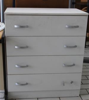 White chest of drawers S032192A #Rosettenvillepawnshop