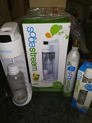 Sodastream met ekstra bottel