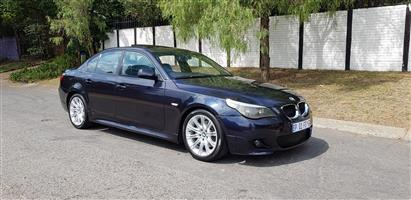 2006 BMW 5 Series 525i M Sport steptronic