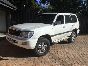 2001 Toyota Land Cruiser 100 4.2TD VX