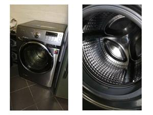 SAMSUNG 14KG/8KG WASHER & DRYER METALLIC GREY